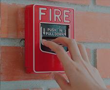 Оповещение <br>о пожаре